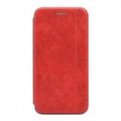 Futrola za iPhone 11 preklop bez magneta bez prozora Teracell leather - crvena