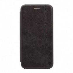Futrola za iPhone 11 Pro preklop bez magneta bez prozora Teracell leather - crna
