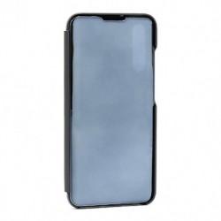 Futrola za Xiaomi Mi A3/CC9e preklop bez magneta bez prozora Clear view - crna