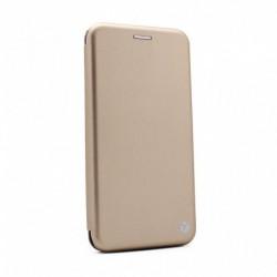 Futrola za Xiaomi Mi 9 preklop bez magneta bez prozora Teracell flip - zlatna