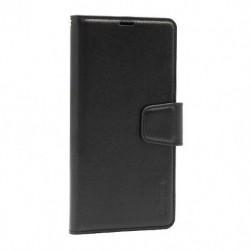 Futrola za iPhone 11 Pro preklop sa magnetom bez prozora Hanman - crna