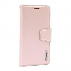Futrola za iPhone 11 Pro Max preklop sa magnetom bez prozora Hanman - svetlo roza