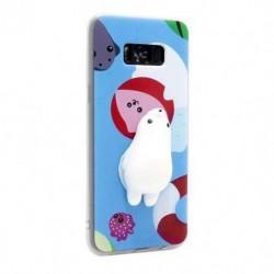Futrola za Samsung Galaxy S8 Plus leđa Squeeze - polarni medved