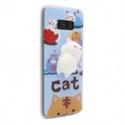 Futrola za Samsung Galaxy S8 Plus leđa Squeeze - mačka