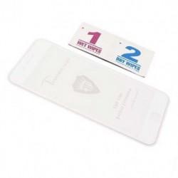 Zaštitno staklo za iPhone 7 Plus/8 Plus (2,5D) - bela