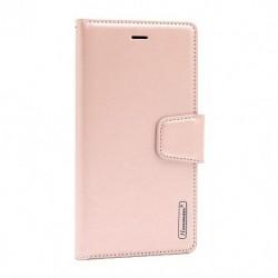 Futrola za iPhone 7 Plus/8 Plus preklop sa magnetom bez prozora Hanman - svetlo roza