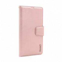 Futrola za iPhone 11 Pro preklop sa magnetom bez prozora Hanman - roza