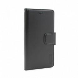 Futrola za iPhone X/XS preklop sa magnetom bez prozora Hanman - crna