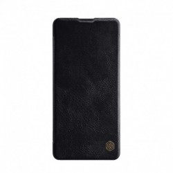 Futrola za Samsung Galaxy Note 10 Lite preklop bez magneta sa prozorom Nillkin Qin - crna