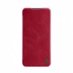 Futrola za Xiaomi Redmi Note 8 Pro preklop bez magneta sa prozorom Nillkin Qin - crvena
