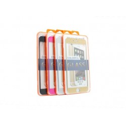 Zaštitno staklo za iPhone 6 Plus/6s Plus Titanium - crna