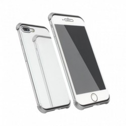 Futrola za iPhone 7 Plus/8 Plus oklop Magnetic Full glass 360 - srebrna