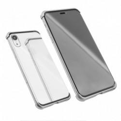 Futrola za iPhone XR oklop Magnetic Full glass 360 - srebrna