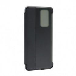 Futrola za Huawei P40 Pro preklop bez magneta sa prozorom Smart view - crna