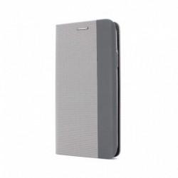 Futrola za Samsung Galaxy A71 preklop bez magneta bez prozora GentlemanG - siva