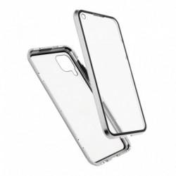 Futrola za Xiaomi Redmi Note 9S/9 Pro/9 Pro Max oklop Magnetic exclusive 360 - srebrna