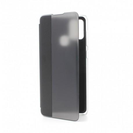 Futrola za Samsung Galaxy A21s preklop bez magneta bez prozora View window - crna