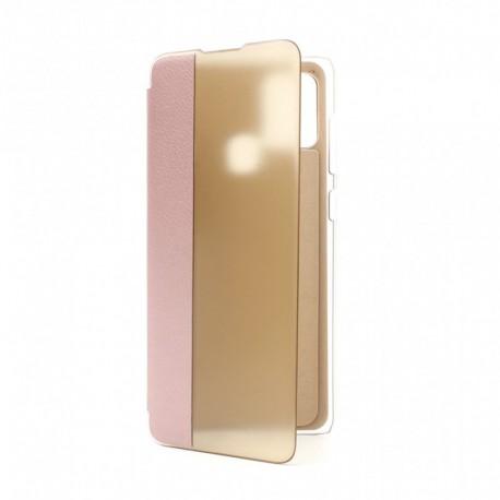 Futrola za Samsung Galaxy A21s preklop bez magneta bez prozora View window - roza