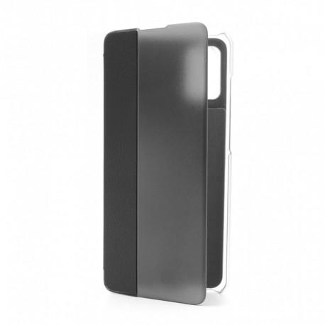 Futrola za Samsung Galaxy A41 preklop bez magneta bez prozora View window - crna
