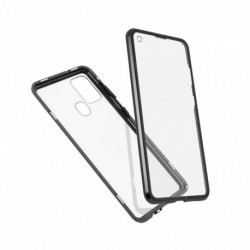 Futrola za Samsung Galaxy A21s oklop Magnetic exclusive 360 - crna