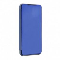 Futrola za Motorola Moto G9 Plus preklop bez magneta bez prozora Clear view - teget