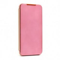 Futrola za Motorola Moto G8 Power Lite preklop bez magneta bez prozora Clear view - roza