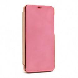Futrola za Motorola Moto G8 Power preklop bez magneta bez prozora Clear view - roza