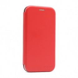 Futrola za iPhone 12 mini preklop bez magneta bez prozora iHave - crvena