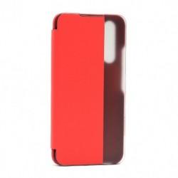 Futrola za Huawei Honor 20/20s/Nova 5T preklop bez magneta sa prozorom View window2 - crvena