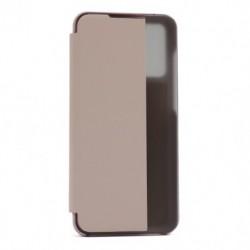 Futrola za Huawei Honor 9A/Play 9A preklop bez magneta sa prozorom View window2 - roza