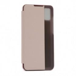 Futrola za Huawei Honor 9X lite preklop bez magneta sa prozorom View window2 - roza