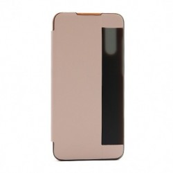Futrola za Huawei P30 lite/Nova 4e preklop bez magneta sa prozorom View window2 - roza