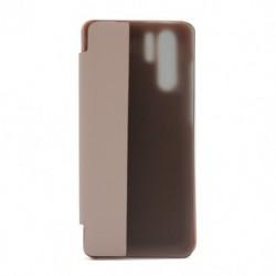 Futrola za Huawei P30 Pro/P30 Pro New Edition/P30 Pro (2020) preklop bez magneta sa prozorom View window2 - roza