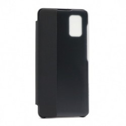 Futrola za Samsung Galaxy A41 preklop bez magneta sa prozorom View window2 - crna