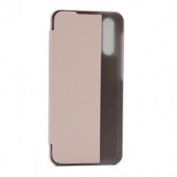 Futrola za Samsung Galaxy A30s/A50/A50s preklop bez magneta sa prozorom View window2 - roza