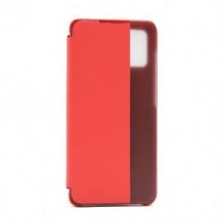 Futrola za Samsung Galaxy A51 preklop bez magneta sa prozorom View window2 - crvena