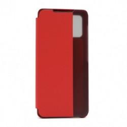 Futrola za Samsung Galaxy A71 preklop bez magneta sa prozorom View window2 - crvena