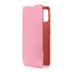 Futrola za Samsung Galaxy A41 preklop bez magneta bez prozora See - roza