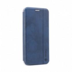 Futrola za iPhone 12 Pro Max preklop bez magneta bez prozora Teracell Leather - plava