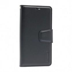 Futrola za iPhone 12 Pro Max preklop sa magnetom bez prozora Hanman - crna