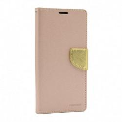 Futrola za Nokia 5.3 preklop sa magnetom bez prozora Mercury - zlatna