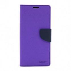 Futrola za Xiaomi Redmi 9 preklop sa magnetom bez prozora Mercury - ljubičasta