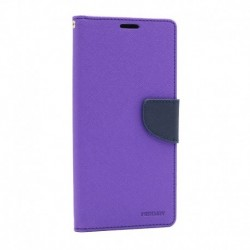 Futrola za Xiaomi Redmi 10X 4G/Note 9 preklop sa magnetom bez prozora Mercury - ljubičasta