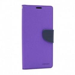 Futrola za Xiaomi Redmi Note 9S/9 Pro/9 Pro Max preklop sa magnetom bez prozora Mercury - ljubičasta