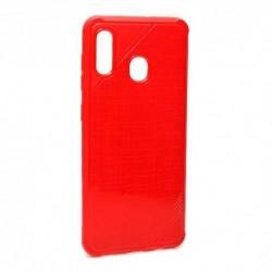 Futrola za Samsung Galaxy A20/A30/A8s/A9 Pro (2019)/M10s leđa Rough - crvena