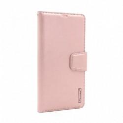 Futrola za iPhone 12 mini preklop sa magnetom bez prozora Hanman - roza