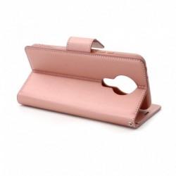 Futrola za Nokia 3.4 preklop sa magnetom bez prozora Hanman - roza