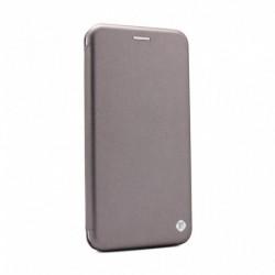 Futrola za Motorola Moto G8 preklop bez magneta bez prozora Teracell flip - srebrna
