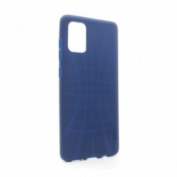 Futrola za Samsung Galaxy A51 leđa Spigen silikon - plava
