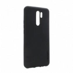 Futrola za Xiaomi Redmi 9 leđa Spigen silikon - crna